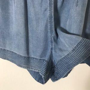rag & bone Pants - rag & bone/JEAN Mojave Romper in Indigo